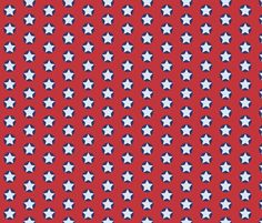 star_spots_blue_cosmos_a fabric by colour_angel on Spoonflower - custom fabric