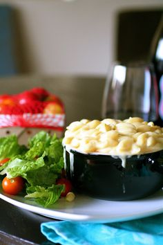 Panera-esque Macaroni and Cheese - only make this for a small side and for a very special occasion!