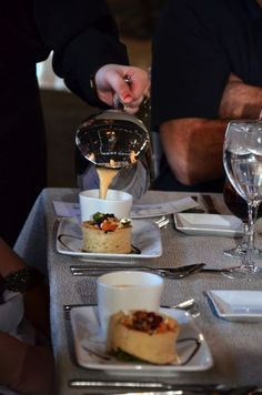We just love soup service- it keeps the soup HOT!  www.feastivitiesevents.com