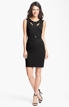 Marc New York by Andrew Marc Cutout Sheath Dress available at #Nordstrom