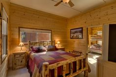 South Lake Tahoe Cabin - Master Bedroom