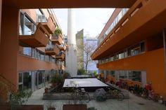 BKK-3   Cooperativa de viviendas Sargfabrik   Viena, Austria   1993-1996   Austria, Coops, Vienna