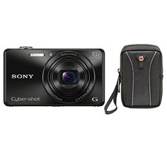 Sony DSCWX220/B 18.2 MP Digital Camera with 2.7-Inch LCD (Black) (Black w/ case) http://cameras.henryhstevens.com/shop/sony-18-2-mp-digital-camera-with-2-7-inch-lcd/?attribute_pa_color=black-w-case https://images-na.ssl-images-amazon.com/images/I/41enrC9G0eL.jpg