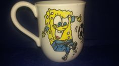 Sponge Bob and Friends boys cup hand painted on order
