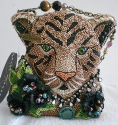 Feline Fetish Cat Kitty Lion Brown Purse