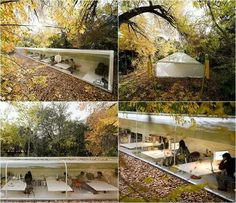 Office in the forest - Spain