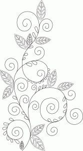 Silhouette Design Store: Flourish – The World Floral Embroidery Patterns, Bead Embroidery Patterns, Bead Embroidery Jewelry, Silk Ribbon Embroidery, Hand Embroidery Designs, Embroidery Applique, Cross Stitch Embroidery, Quilting Templates, Quilting Designs