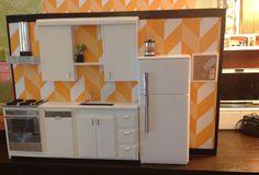 Cheery kitchen 1/6 scale.