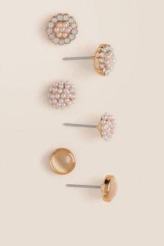 Hadley Stud Earring Set
