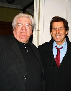Paul Goze, Président de la ligue nationale de rugby et Max Guazzini, Vice-Président / Mars 2013