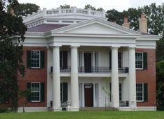 Melrose. Natchez, Mississippi, 1841-1849.