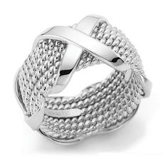 Tiffany Jewelry Somerset Decussation Ring This Tiffany Jewelry Product Features: Category: Tiffany & Co Rings Material: Sterling Silver