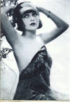 Silent film star Corinne Griffith by Silverbluestar, via Flickr