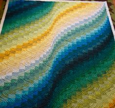 Jennifer recently completed this stunning jelly roll Bargello on her Millie and said she didn't have a single tension issue while quilting – she was even using a new type of thread. We love hearing success stories and seeing the beautiful end results!