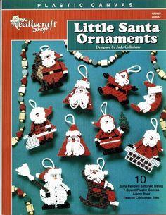 Little Santa Ornaments 1/4