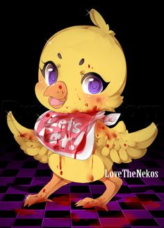 Cute little Chica the chicken