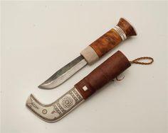 Samekniv av Nikolaus Fankki Kaitum på Tradera.com - Knivar från