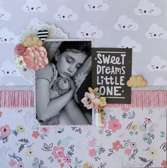 Crate Paper Little You - Sweet Dreams Little One by Fiona Johnstone