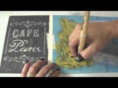 Video-Aula: Caixa Cafe Paris by Livia Fiorelli - YouTube