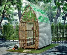 How to Build a Greenhouse Made From Plastic Bottles 5