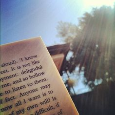 Jane Eyre in the sun. Instagram photo by @gscarf http://www.penguinenglishlibrary.com/#!jane-eyre