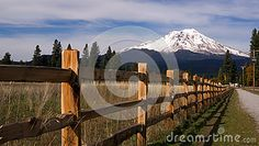 Photo about A quiet drive in the country reveal some beautiful territory on the south side of Mount Shasta. Image of america, peak, california - 48495259 Images Of California, Ranch Fencing, Mount Shasta, Video Footage, Mount Rainier, Countryside, The Row, Perspective, America
