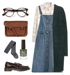 15AW/02 by hazeland on Polyvore featuring polyvore mode style Chicnova Fashion Closed MANGO H&M Dr. Martens The Cambridge Satchel Company women's clothing women's fashion women female woman misses juniors outfit Original winterstyle