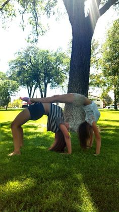 32 best 2 person gymnastics poses images  gymnastics