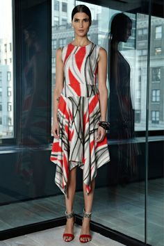 whoa momma - loving this print from Rachel Roy's pre-fall 2013 collection