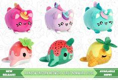 Tasty Peach Studios, Kawaii Plush, Evie, Mochi, Piggy Bank, Super Cute, The Originals, Toys, Board