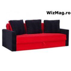 Canapea extensibila Dora cu 3 locuri WIZ 014 Couch, Furniture, Home Decor, Settee, Decoration Home, Room Decor, Sofas, Home Furnishings, Sofa