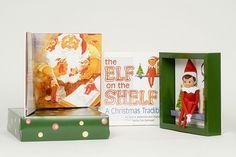 Elf On The Shelf... Loving this!
