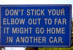25 Funny Road Signs