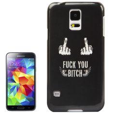 Backcover Case fürs Samsung Galaxy S5 i9600 Fuck You Bitch