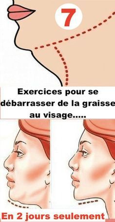 Comment se débarrasser des graisses du visage en 2 jours seulement. - Trucs & Astuces