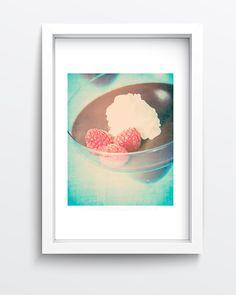 Vegan Chocolate Pudding Photo Wall Art by SusanGottbergPhotos