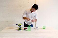 HomeMade Modern DIY EP9 Concrete Pendant Lamp Step 3