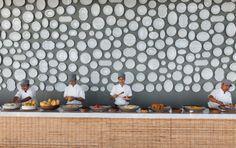 Hotel Point Yamu - Phuket, Paola Navone [plates by Richard Ginori and Reichenbach]