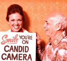 Candid Camera, one of my favorite shows as a kid