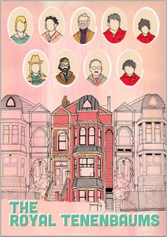 The Royal Tenenbaums poster.  http://www.etsy.com/listing/99921751/the-royal-tenenbaums-poster-11-x-16