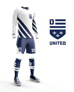 """13b49a9516c5e Skidmore Studio on Instagram  """"Getting swept up in all the  mlsxdetroit  excitement. So we dreamed up this  DetroitUnited soccer kit and logo."""""""