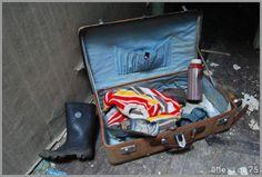 someone's abandoned belongings in the also-abandoned Eastmoor (Adel) Reformatory School (Leeds, UK)