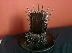Game of thrones iron throne iphone holder