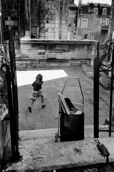 Erich Hartmann  Poitiers, France  1979 Erich Hartmann, Photographer Portfolio, France, Magnum Photos, Scene Photo, Photo Reference, In This Moment, American, Image