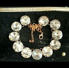 Circle Dot Crystal Necklace