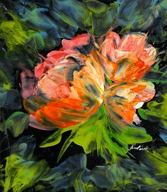 Peach Blossoms Painting by Alexis Bonavitacola