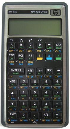 Cool Tools – WP 34S Scientific Calculator  This scientific calculator is very cool for two main reasons.