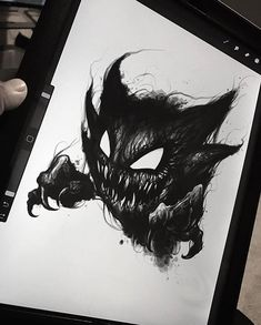 64 Ideas For Art Tattoo Illustration Pokemon Tattoo, Gengar Tattoo, Tattoo Sketches, Tattoo Drawings, Body Art Tattoos, Cool Tattoos, Blackwork, Haunter Pokemon, Dark Art Tattoo