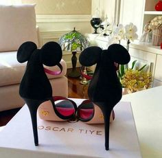 Disney Minnie Mouse Ladies' Heels Shoes Oscar Tiye