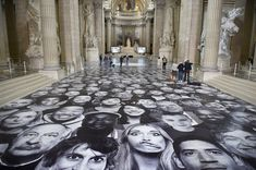 Street Artist Gives The Pantheon In Paris A Face-Lift | HuffPost